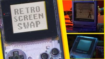 Put your own Graphics in a Game Boy Screen with After Effects course image