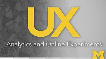 UX Research at Scale: Analytics and Online Experiments course image
