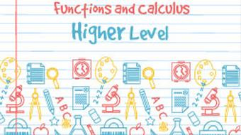 Strand 5 Higher Level Functions and Calculus course image