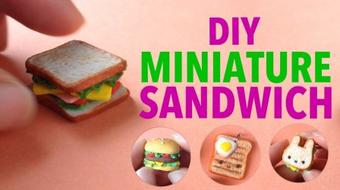 DIY | Clay Sculpting : Create Your Own Mini Sandwich ( Easy! ) course image