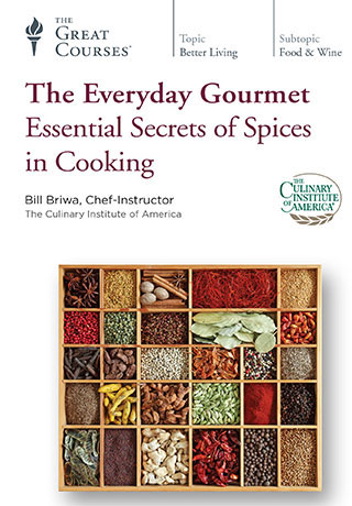 The Everyday Gourmet: Essential Secrets of Spices in Cooking - DVD, digital video course course image