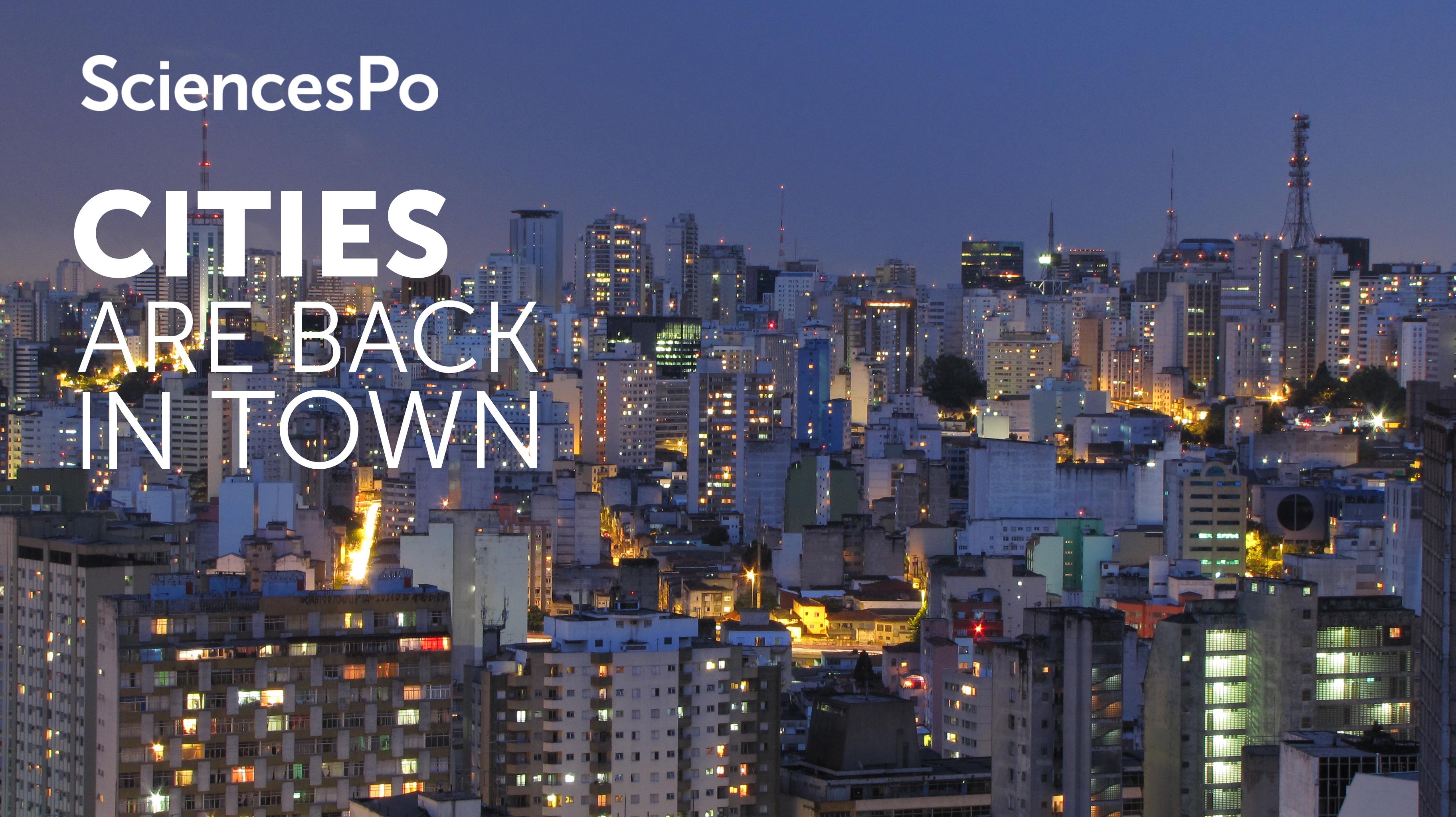 Cities are back in town : sociologie urbaine pour un monde globalisé course image