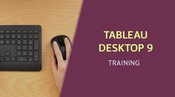 Tableau Desktop 9 Qualified Associate Training course image