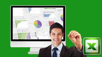 Excel Interactive Human Resource Data Dashboard course image