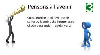 Pensons à l'avenir 3: Learn to use irregular  French  verbs in the Future Tense course image