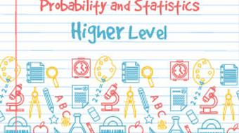 Strand 1 Higher Level Probability and Statistics course image