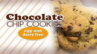 How to make the BEST tasting Egg & Dairy Free Chocolate Chip Cookies course image