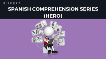 Spanish Comprehension Series - Hero course image