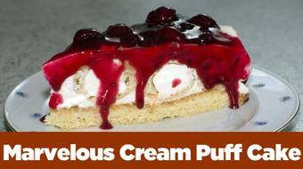 Marvelous Cream Puff Cake ... easy as pie :-) course image