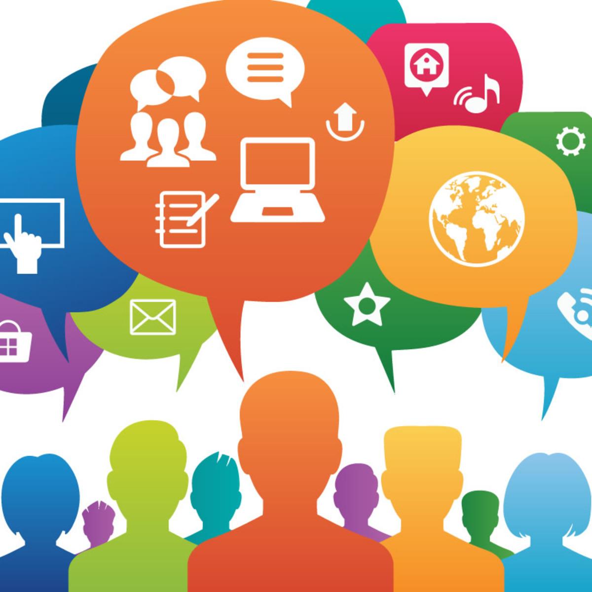 Las redes sociales en acción course image