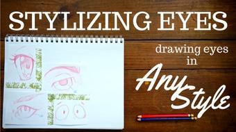 Stylizing Eyes - Unlocking the Secret to Drawing Eyes in Any Style course image
