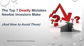 7 Deadly Mistakes Newbie Investors Make (And How To Avoid Them) course image