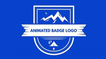 Animate a Hipster Badge Logo in After Effects course image