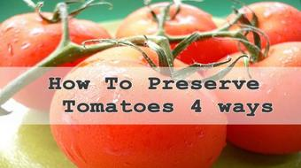 How to Preserve Tomatoes course image