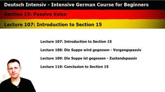 Intensive German: Part 15 - Passive Voice course image