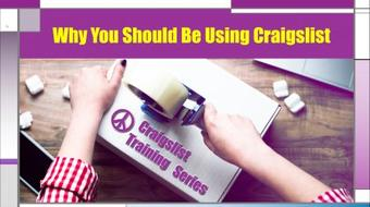 Craigslist Training Series: Why You Should Be Using Craigslist course image