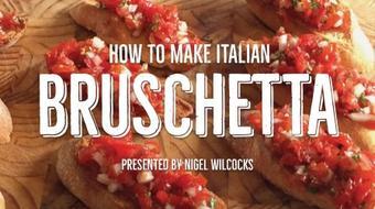 How to make italian Bruschetta course image