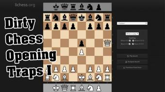 Dirty Chess Opening Traps - The Patzer Opening / 1. e4 e5 2. Qh5?! course image