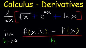 Calculus 1 Derivatives - Product & Quotient Rule, Chain Rule, Exponential & Logarithmic Functions course image