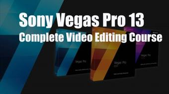 The Complete Video Editing Course With Sony Vegas Pro 13 ( Level 1 ) course image