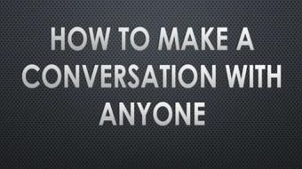 How to make a Conversation with Anyone course image