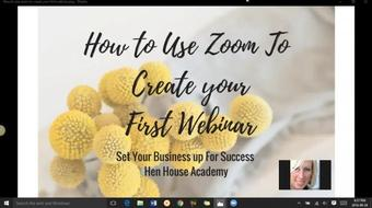 How to Create Webinars and Classes Using Zoom course image