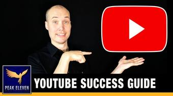 Youtube Success - 21 Steps to a Successful Youtube Channel course image