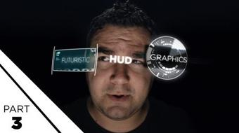 After Effects: Futuristic Graphics (Part 3) course image