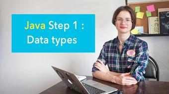 Java Step 1: Data types course image