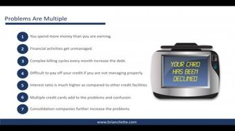 Credit Card Debt :Quick Guide to Eliminate Credit Card Debt course image