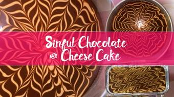 Sinful Chocolate and Cheese Cake - No Oven Needed! course image
