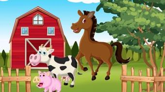 Have Fun Learning English - Lesson One: On The Farm (ESL - A1 Beginners) course image