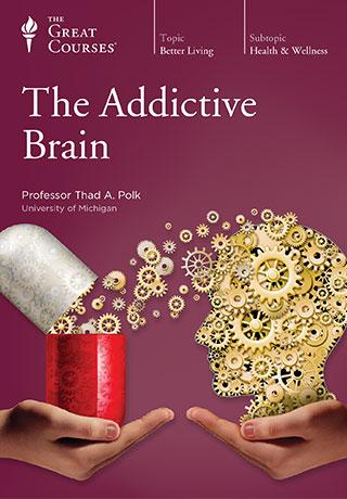 The Addictive Brain - DVD, digital video course course image