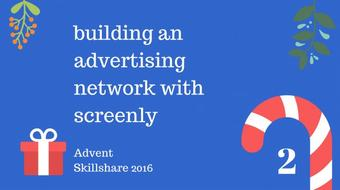 building an advertising network with screenly course image