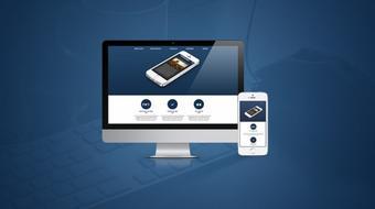 Crea un Landing Page con HTML5, CSS3, Bootstrap y WordPress course image