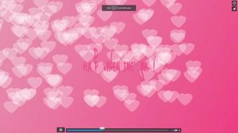 Sweet Valentine Day Animation in After Effects course image