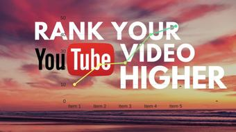 Rank Your YouTube Videos Higher Using YouTube 2017 SEO: Proven Tactics course image