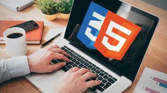 The Complete HTML5 and CSS3 course - with 8 Websites Design course image