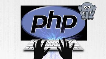 PHP in action course image