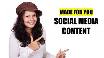 Social Media Content Builder: Save Time With Handmade Visuals And Templates course image