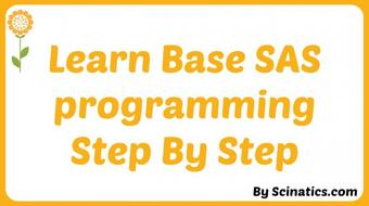 Learn SAS Step by Step Class 1 course image