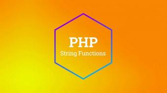 PHP Text Functions course image