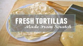 Fresh Tortillas Made from Scratch course image