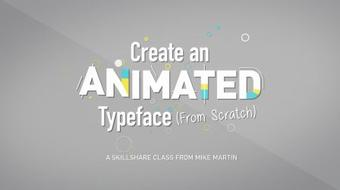Animate Your Words: Create An Animated Typeface course image