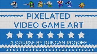 Adobe After Effects: A Step-By-Step Guide to Pixelated Video Game Art course image
