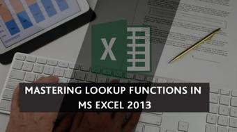 Mastering Lookup functions in MS Excel course image