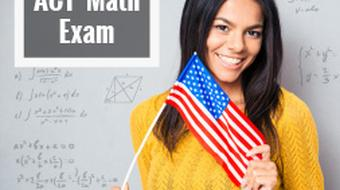 ACT Math Exam course image