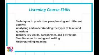 IELTS Band 7 Preparation Speaking Course course image