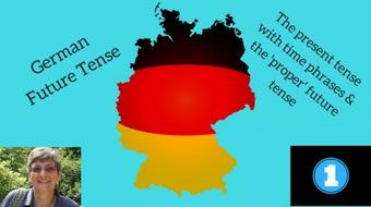 German grammar - future tense #1 - present tense with time phrases & werden with infinitive course image