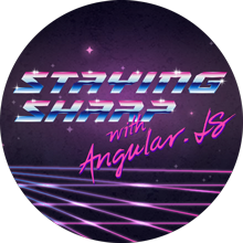 Staying Sharp with Angular.js course image